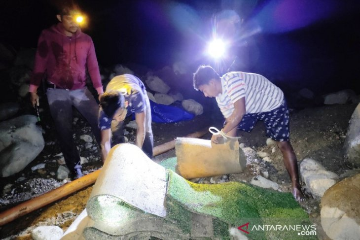 Polisi tangkap empat penambang emas ilegal di Pante Ceureumen