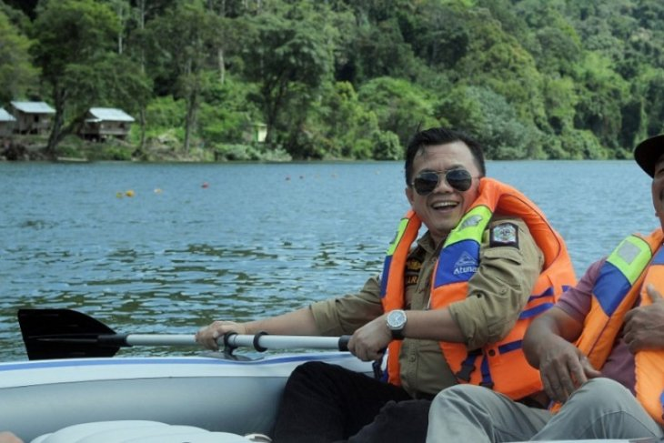 Merangin angkat pesona Danau Depati Empat di Jangkat
