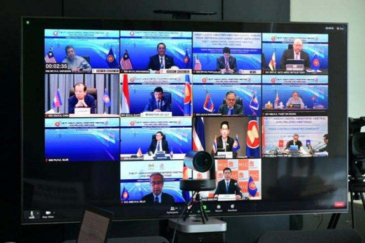 Menkominfo tekankan kolaborasi ASEAN percepat transformasi digital