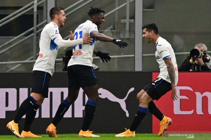 Liga Italia: AC Milan dipecundangi Atalanta tiga gol tanpa balas