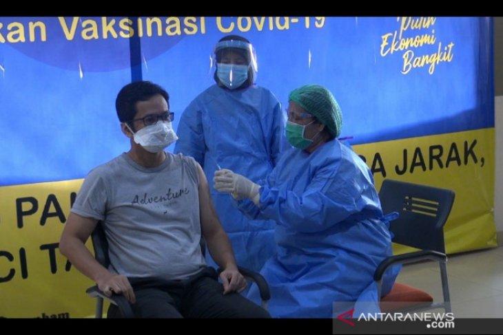 4.142 tenaga kesehatan di Sumut sudah divaksin