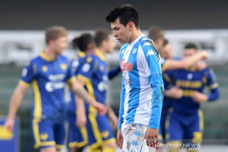 Liga Italia: Napoli takluk 1-3 dari Verona walau Lozano ukir gol tercepat