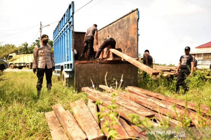 Aceh Police detain illegal logger in Mt Leuser national park area