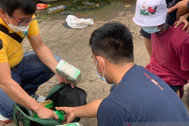 Polres Metro tangkap bandar sabu di Palembang