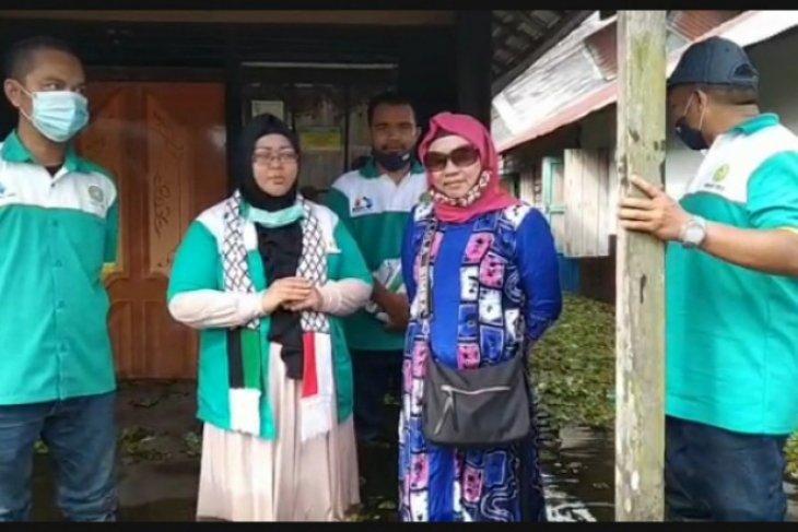 Serikat Pekerja Kimia, Energi dan Pertambangan Tabalong sisir dua desa terisolir Banjir HSU - HST