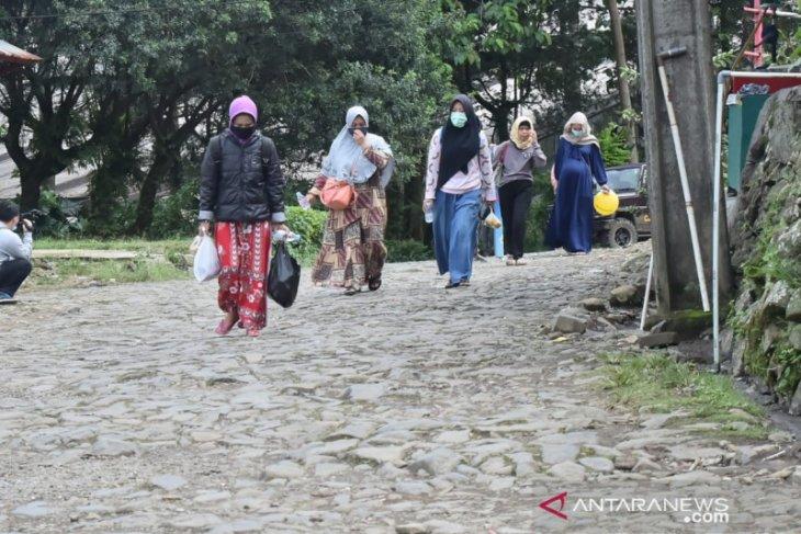 Sudah kondusif pengungsi banjir bandang puncak Bogor sudah dibolehkan pulang