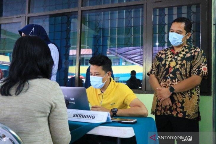 198 Nakes di Dinkes Kota Tangerang sudah divaksin COVID-19