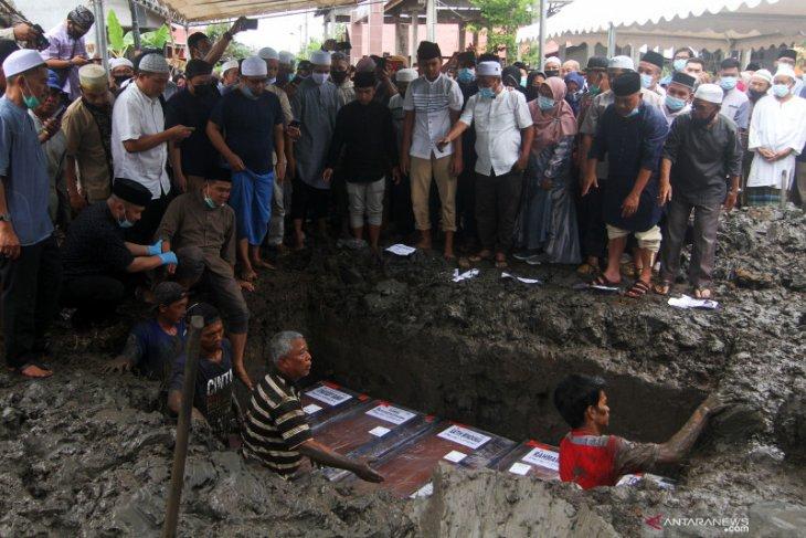 Masih ada empat korban Sriwijaya Air belum teridentifikasi