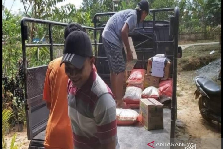 Desa Bukit Raya di Penajam kumpulkan Rp11 juta untuk korban bencana