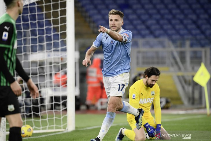 Lazio kunci kemenangan atas Sassuolo meski tertinggal