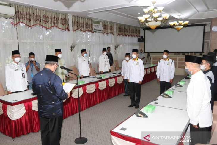 Akhmad Suriani dilantik pimpin Pengurus Baznas HSS periode 2020-2025