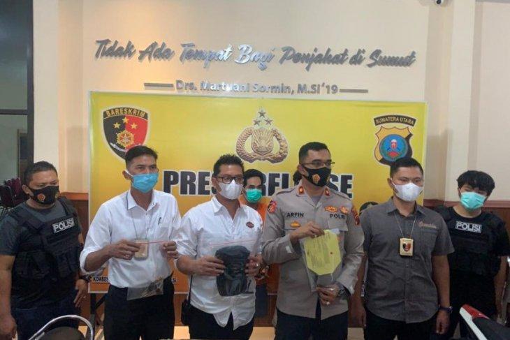 Polisi tembak dua tersangka pelaku curanmor di Medan