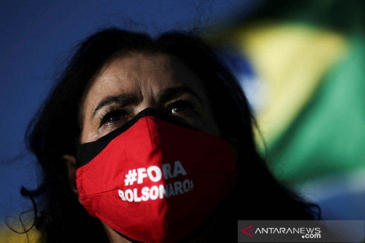 Jumlah kematian COVID-19 di Brazil lampaui 1/4 juta