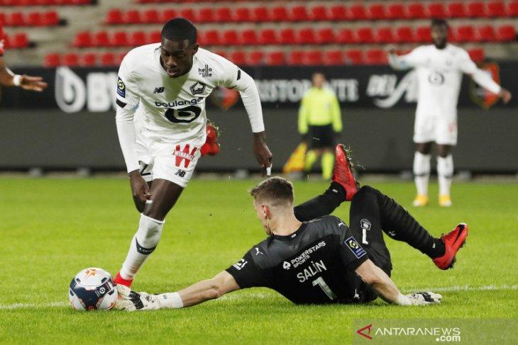 Lille menempel ketat PSG berkat kemenangan tipis atas Rennes