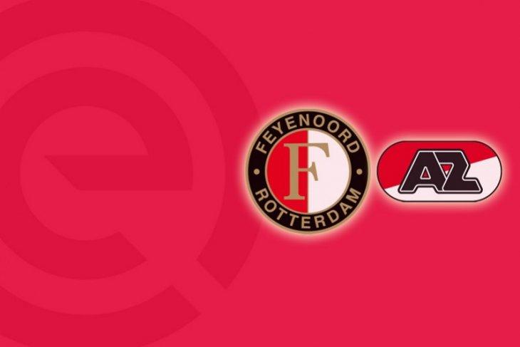 Liga Belanda, Myron Boadu cetak trigol antar AZ lumat Feyenoord 4-2