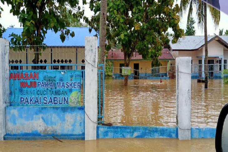 Aktivitas pendidikan di Pidie kembali normal setelah banjir