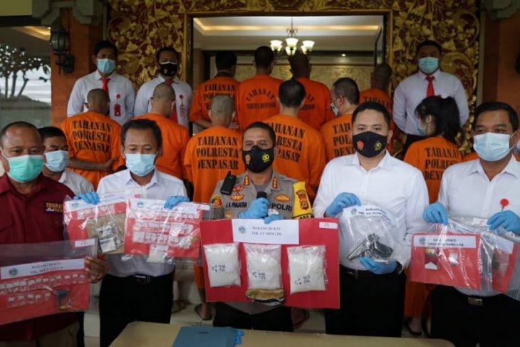 Residivis narkoba kembali dibekuk Polisi Denpasar karena 1,5 kg sabu