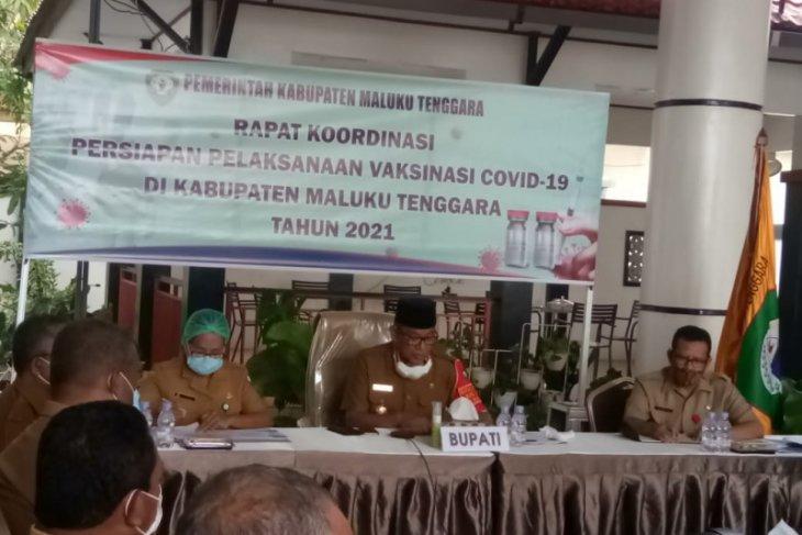 Bupati  Jatah vaksin COVID-19 Maluku Tenggara dijadwalkan tiba Selasa