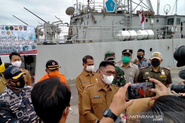 Pemkab Penajam gunakan kapal perang salurkan logistik ke Sulbar