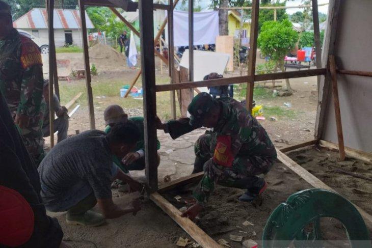 Kodim 1313/Pohuwato bedah rumah warga kurang mampu