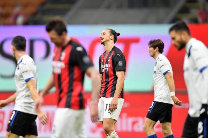 Klasemen Liga Italia: Dua tim teratas telan pil pahit