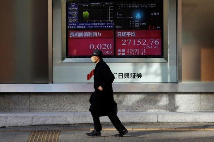 Saham Tokyo dibuka rendah karena aksi ambil untung