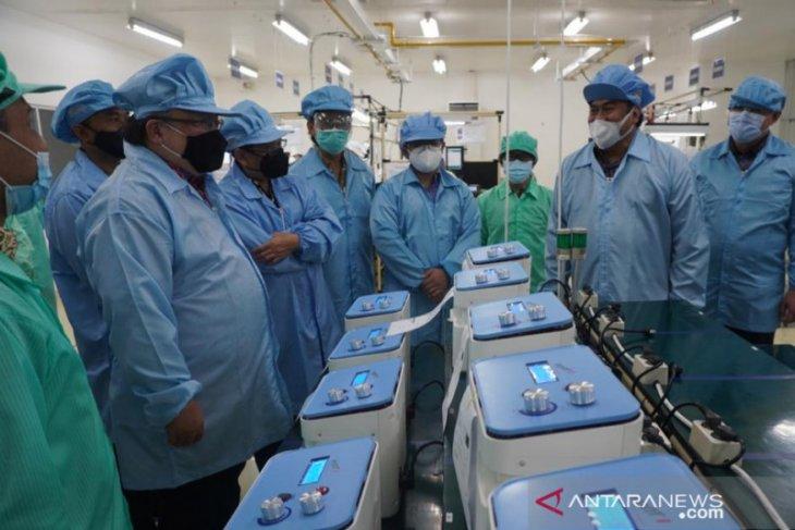 Ventilator PHC Indonesia produk lokal berstandar internasional