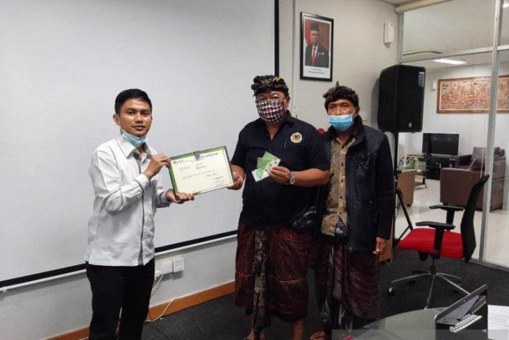 Seluruh pengurus Desa Adat Biaung-Klungkung resmi jadi peserta BPJAMSOSTEK