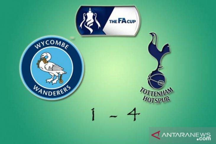 Piala FA: Tottenham menang telak di kandang Wycombe