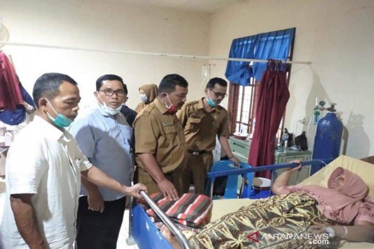 Ketua PGRI Madina jenguk korban tragedi Sibanggor