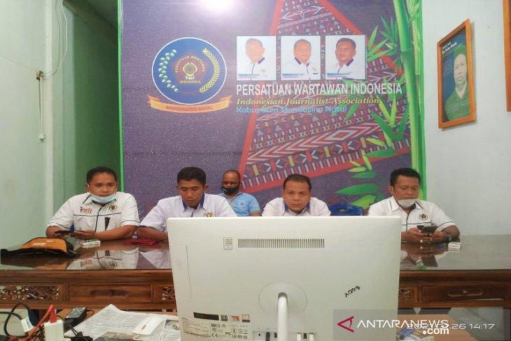 Sambut HPN 2021, PWI Madina ikuti rapat pleno virtual