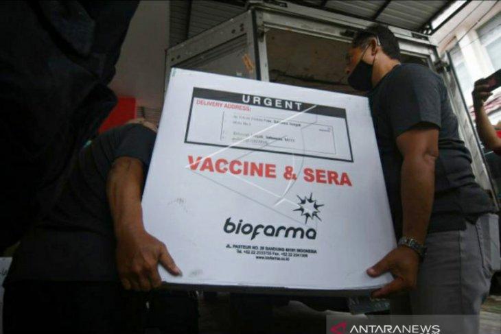 Gorontalo terima distribusi vaksin COVID-19 tahap dua