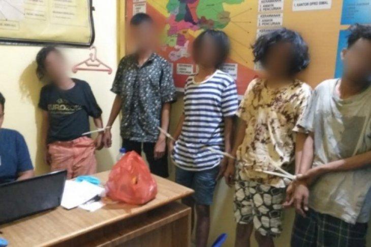 Tiga pelaku pencurian motor di Simalungun menyerahkan diri