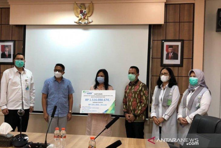 BPJAMSOSTEK Denpasar santuni Rp1,5 miliar ke ahli waris tenaga kerja meninggal