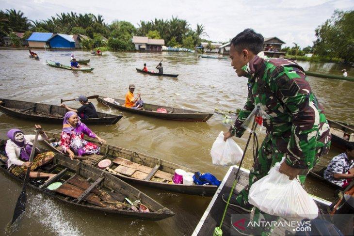Banjar Regent extends flood emergency response status