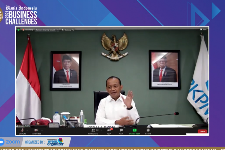 BKPM highlights conditions to achieve Rp900-trillion investment target
