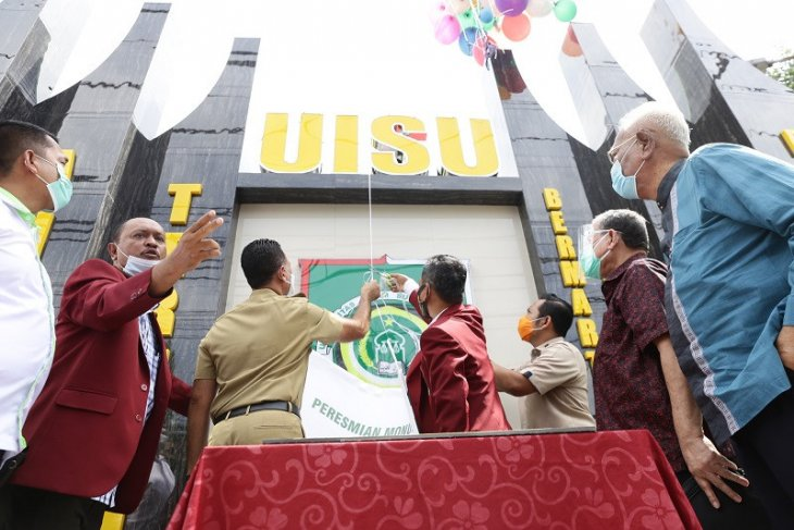 Wagub Sumut Musa Rajekshah resmikan monumen UISU