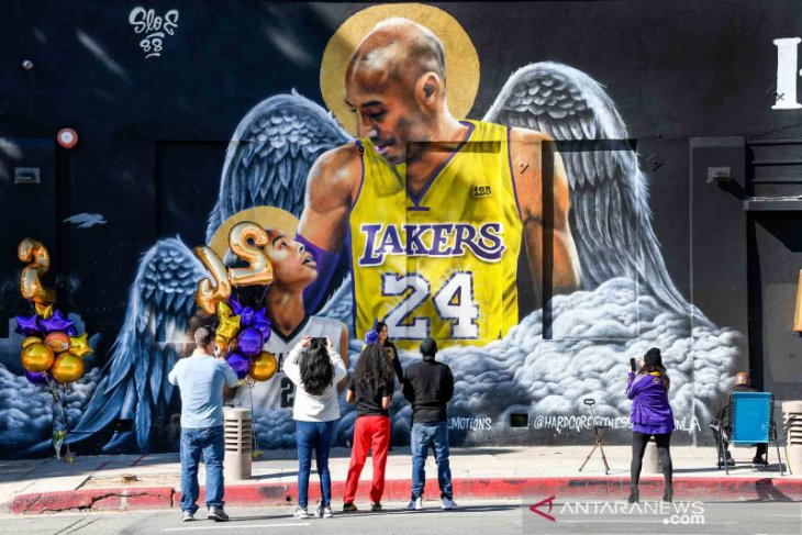 Keluarga Kobe Bryant sepakat penyelesaian gugatan terhadap pilot