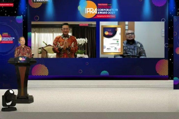 PTPN IV raih penghargaan pada Indonesia Public Relation Award 2021