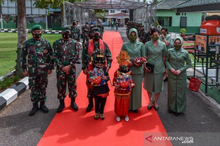 Mayjen TNI Hasanuddin kunjungi Kodim 0212/TS
