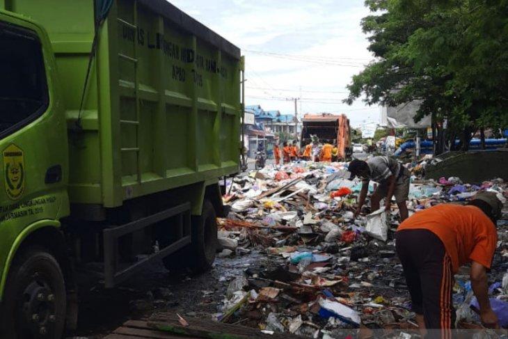 DLH Banjarmasin: Volume sampah naik 25 ton per hari akibat banjir