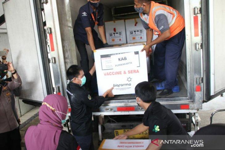 Kabupaten Purwakarta terima 3.920 vaksin COVID-19