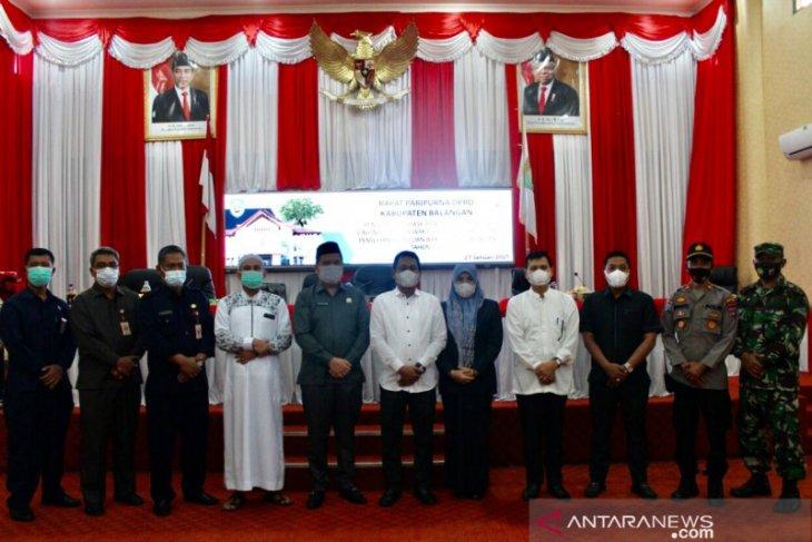DPRD Balangan sahkan pasangan HAS sebagai Bupati dan Wabup Balangan 2021-2024