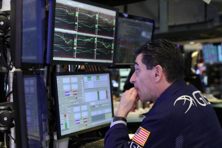 Wall Street terperosok setelah pernyataan Fed, Dow anjlok di atas 600 poin