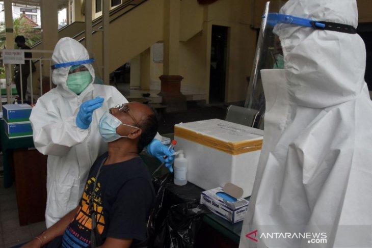 Di Denpasar,  Kasus positif COVID-19 bertambah 242 orang
