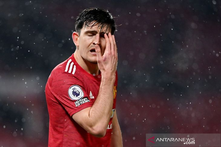 Maguire mungkin absen di final Liga Europa