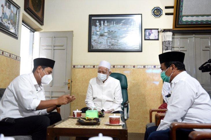 Wali Kota Kediri minta dukungan kiai untuk kelancaran vaksinasi