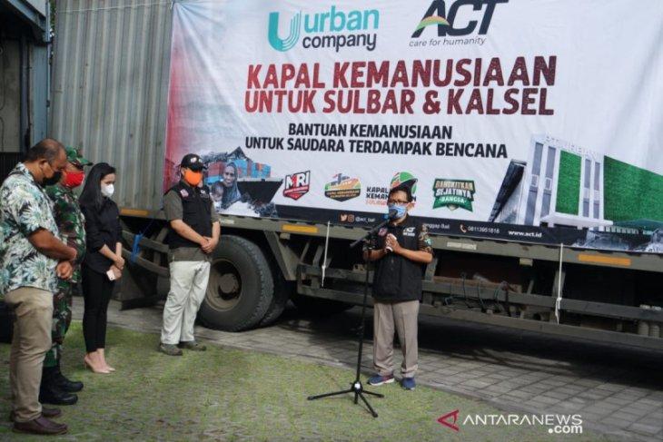 ACT Bali kirimkan 24 ton bantuan pangan untuk korban banjir di Kalsel