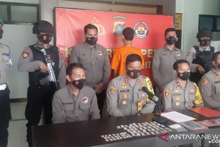 Polres Belitung tangkap buruh harian lepas atas kepemilikan sabu