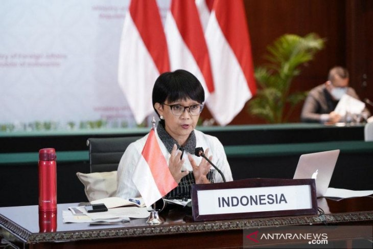 Indonesian, Singaporean foreign ministers discuss Myanmar issue